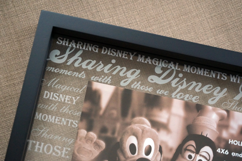 Sharing Disney magical moments.