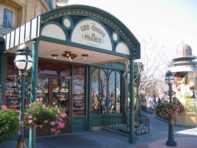 You can take in plenty of French food and culture in the France Pavilion.