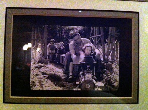 Walt loved railroads. See some of his collection at Wilderness Lodge.