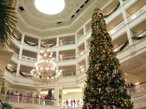 Tour the Disney Resorts and take in the incredible decorations.
