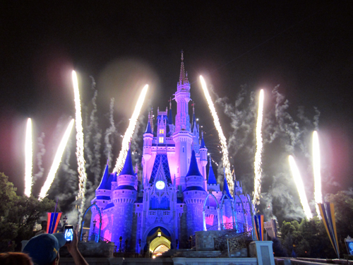Disney World has some of the best fireworks anywhere in the world!