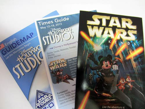 Guide Maps are a great way to remember your Disney World vacation.