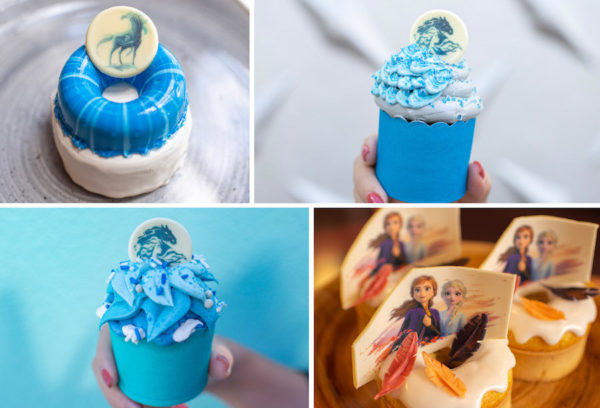 Frozen cakes and donuts - yum! Photo credits (C) Disney Enterprises, Inc. All Rights Reserved