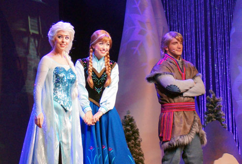 The Frozen Sing-along Celebration is fun for kids and adults.