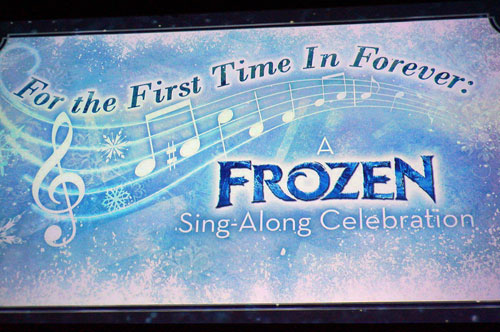 For the First Time in Forever - a Frozen Sing-Along.