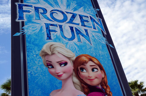 "Disney added ""Frozen"" fun to the Studios."