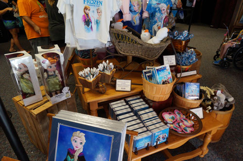 The Post offered a large variety of merchandise.
