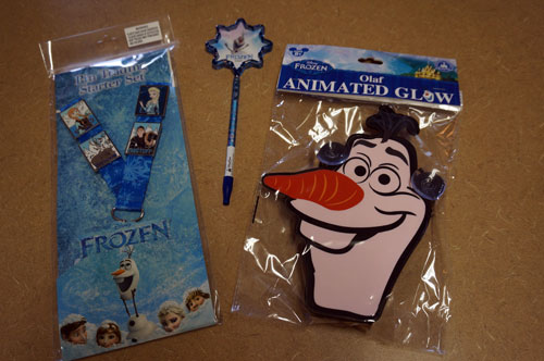 Win this Frozen prize pack.