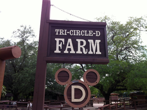 Tri-Circle-D Farm pays homage to Walt Disney's love of horses.