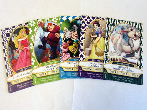 Free Sorcerers of the Magic Kingdom cards are a nice keepsake, even if you don't play the game.