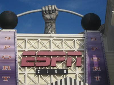 The ESPN Club is a great place to catch a game and a beer.
