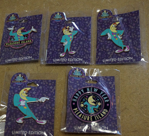 One lucky winner will get all five Funmeister pins.