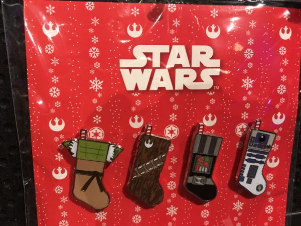 Star Wars themed stockings? Those are pretty cool!