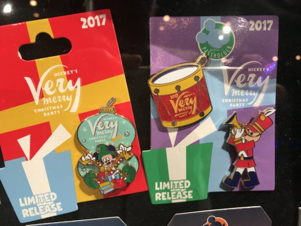 If you're planning to attend Mickey's Very Merry Christmas Party at Magic Kingdom, you can find these limited release pins!