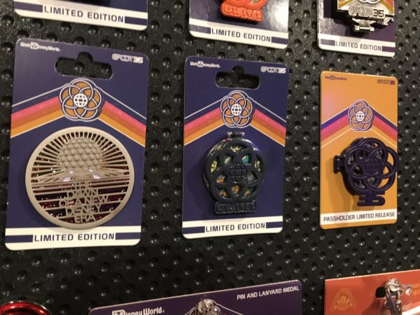 Here are some more limited edition pins celebrating everything Epcot.