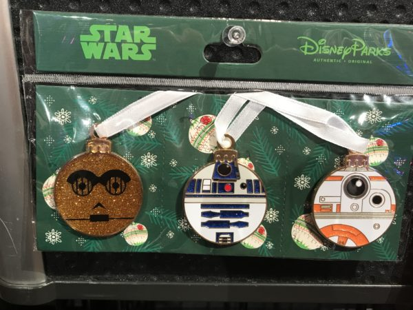 And some Star Wars Christmas ornaments!