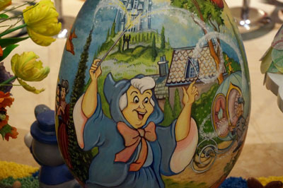 Fairy Godmother Easter egg.