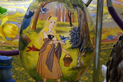 Sleeping Beauty Easter egg.