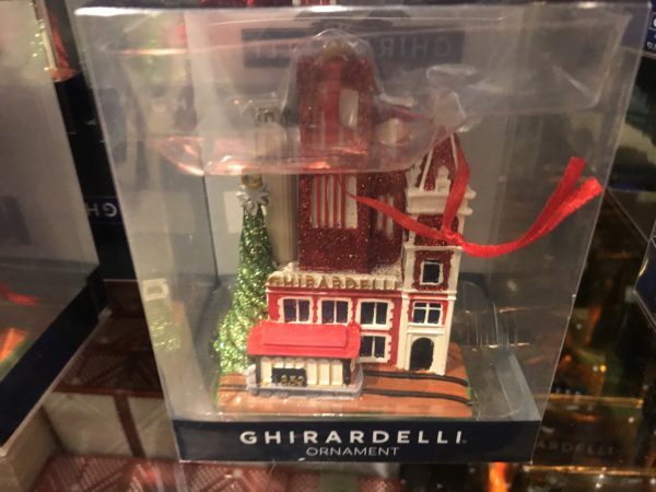 Dress the tree with a keepsake of the Ghirardelli Factory! $14.95!