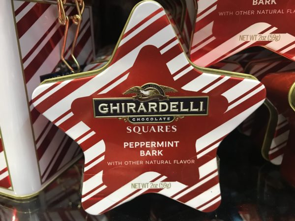 This Peppermint Bark is a great whipped cream topper for hot cocoa, a tin is yours for $8.95!