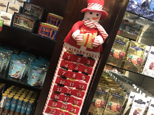 The Ghirardelli Advent Calendar! Treat your faves to a sweet countdown this year! $24.95!