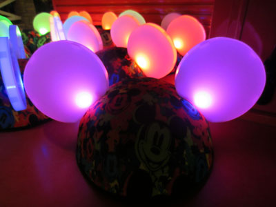 You can win your own Glow With The Show Ear Hat.