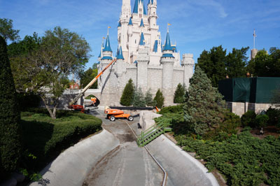 The area around the Castle will soon be very different.