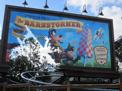 Goofy Barnstormer Starter Thrill Ride