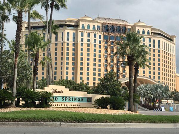 Disney's Gran Destino Tower at Disney's Coronado Springs Resort is a beautiful looking resort.