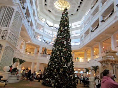 Grand Floridian Christmas Tree 2012