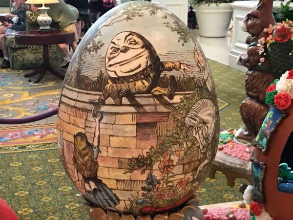 Humpty Dumpty- an egg on an egg!