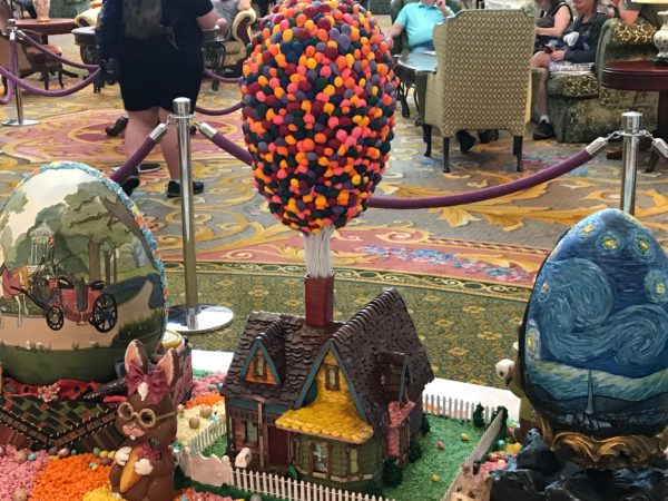 Carl's house from Up- with an egg of balloons!