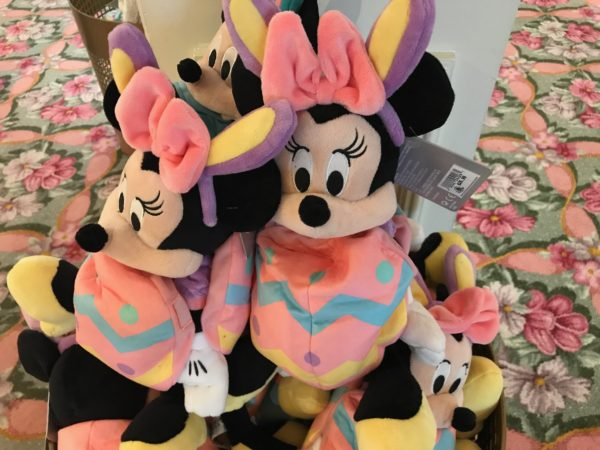 You can even grab a Minnie plus dressed up as an Easter egg with bunny ears!