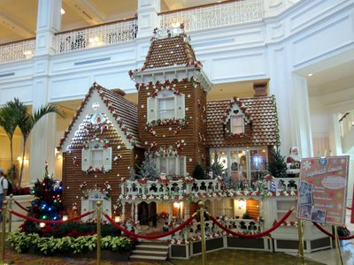 The Gingerbread House is a feat of engineering and a work of art.