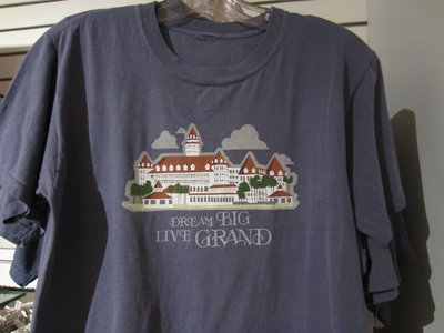 Dream Big - Live Grand: T-Shirt specific to the Grand Floridian.