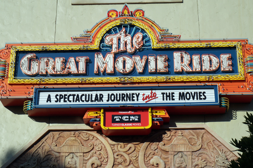 The attraction sign now states that it is presented by TCM.