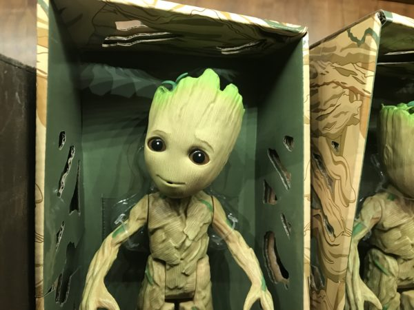 Groot is ready for some fun!