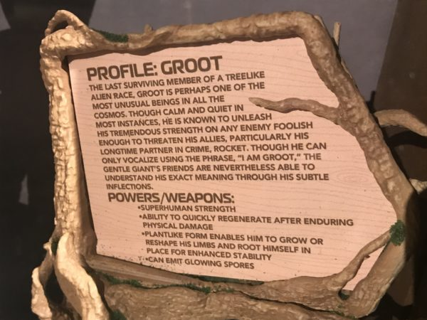 This sign shares the interesting backstory of Groot. He is the last surviving member of a treelike alien race. He is usually quite, but has tremendous strength.