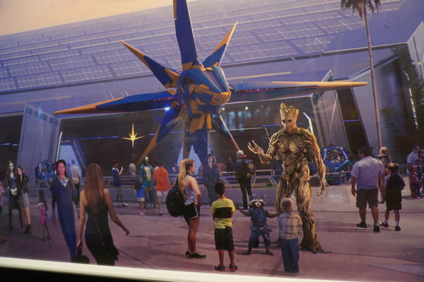 The concept art for Guardians of the Galaxy looks pretty exciting!
