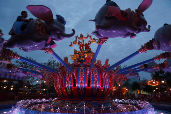 Fly high over Storybook Circus in Dumbo!