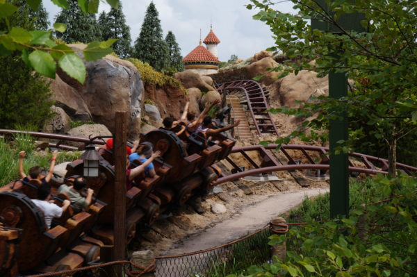 Seven Dwarfs Mine Train is a fun new addition to Fantasyland.