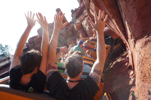 Big Thunder Mountain is a lot of fun!