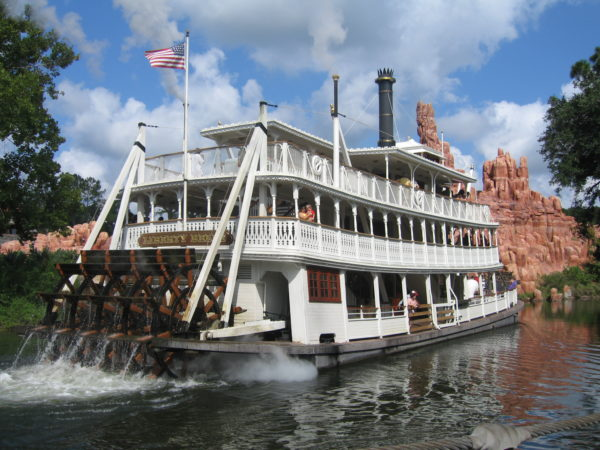 Cruise the Rivers of America is this historic riverboat in Frontierland!