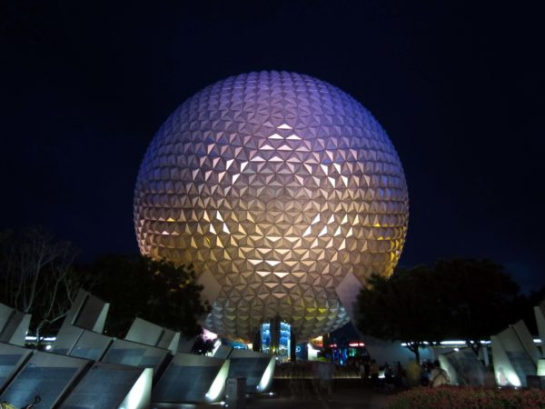Spaceship Earth is the park's icon.