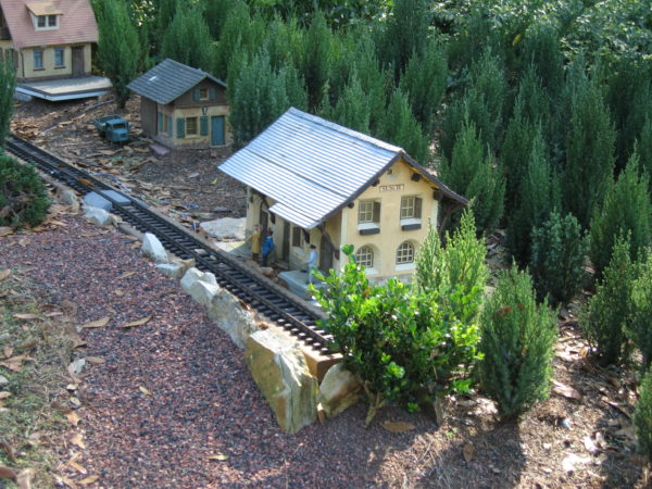 Don't miss the miniature train exhibit in Germany.