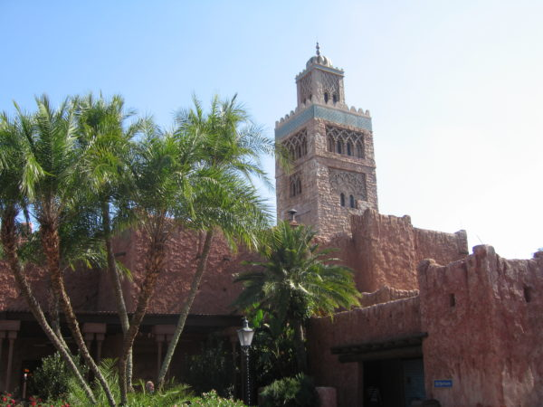 The Marinet tower in Morocco doesn't light for IllumiNations because of its religious significance.
