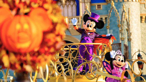 The Magic Kingdom will offer Halloween Cavalcades during the day. Photo credits (C) Disney Enterprises, Inc. All Rights Reserved