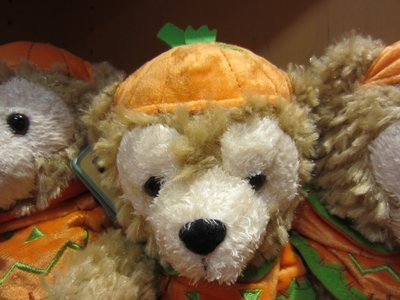Duffy the Disney Bear is ready for fall.