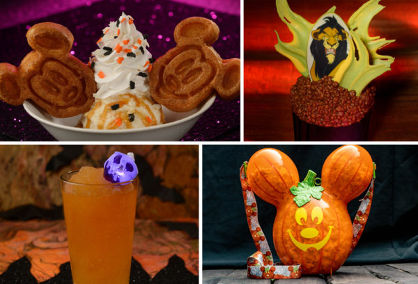 These Halloween themed treats look great! Photo credits (C) Disney Enterprises, Inc. All Rights Reserved