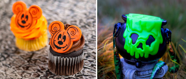Fun EPCOT cupcakes and more! Photo credits (C) Disney Enterprises, Inc. All Rights Reserved